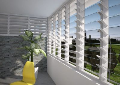 Enclose a balcony or patio