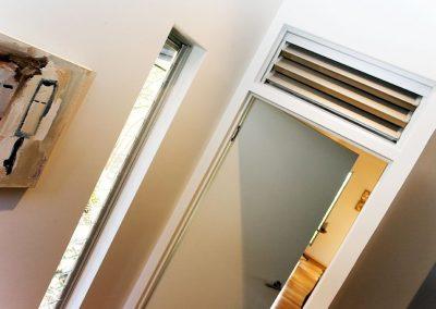 Above bedroom doors