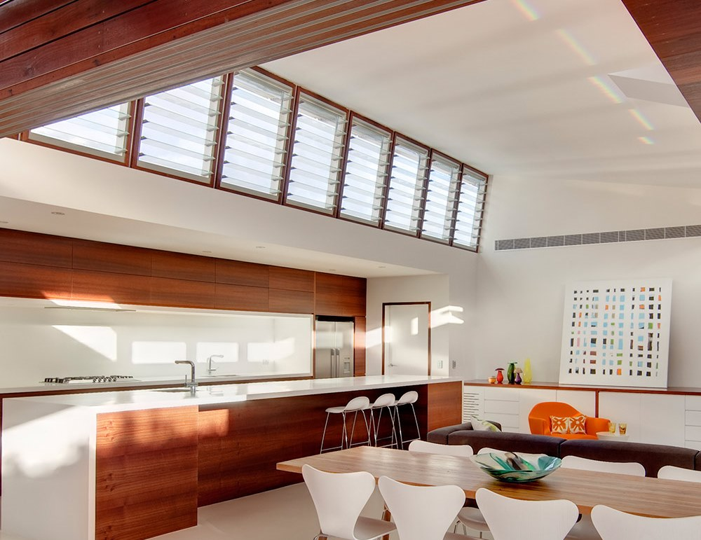Breezway Louvers in the Kitchen