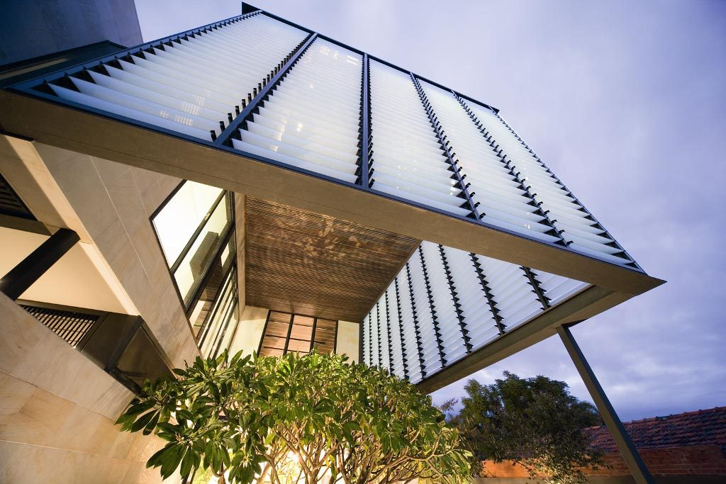 Breezway Louvers offer protection from the elements