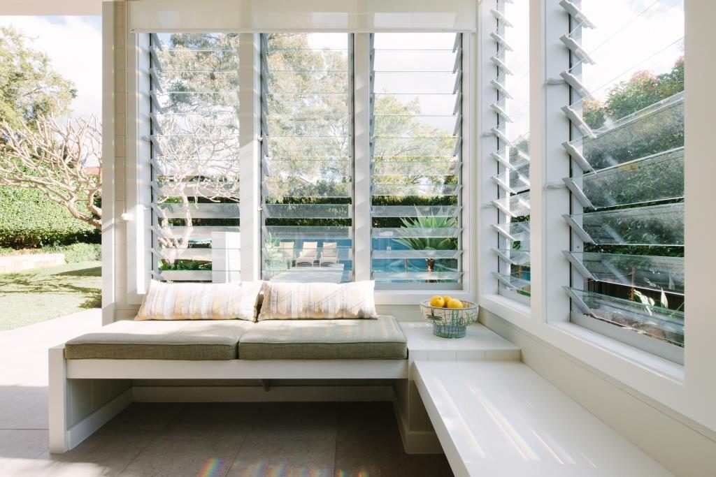 Sun Room with Breezway Louvers