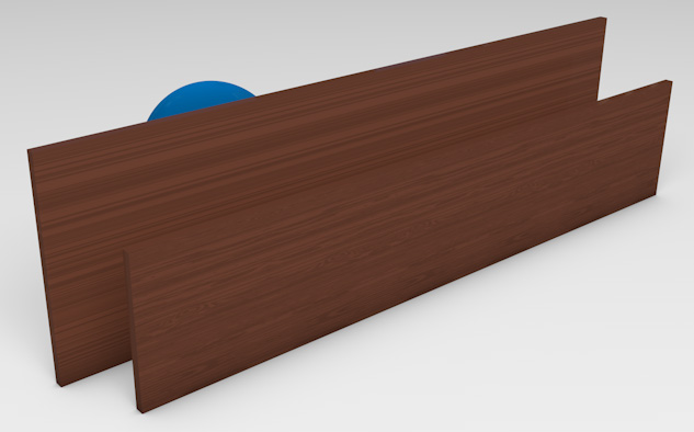 <strong>Aluminium with Decowood*</strong><p>Aluminium with Decowood Finish provides privacy with ventilation.</p>