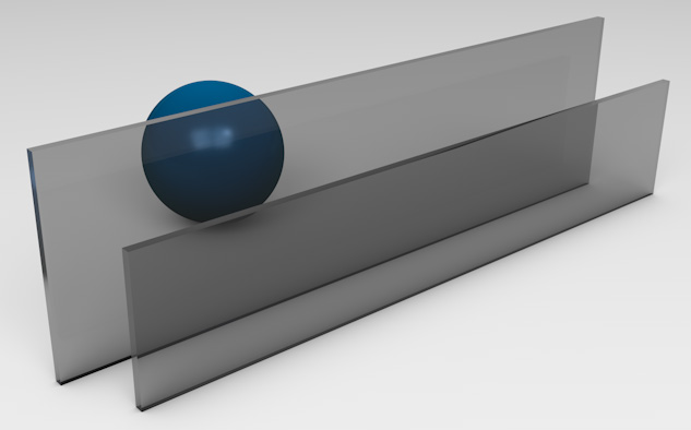 <strong>Grey Tinted Glass</strong><p>Works best to reduce solar heat gain - beneficial in hot climates.</p>