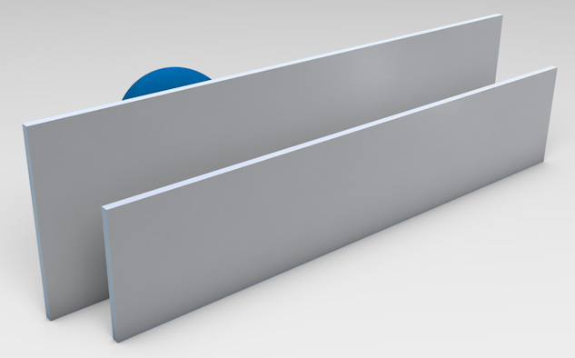 <strong>Anodised Aluminum</strong><p>Provides privacy with ventilation.</p>